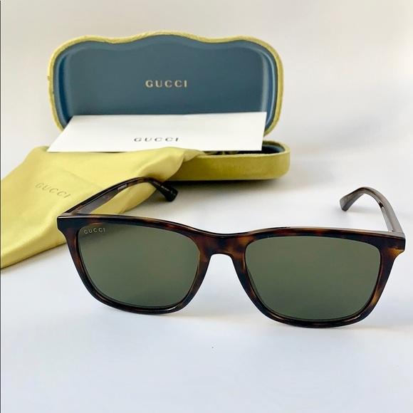 1831a156d46ea Gucci Men Sunglasses GG0404-003 Havana Green